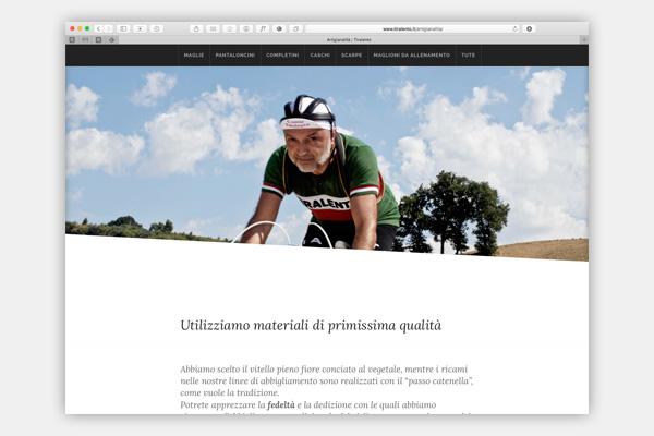Tiralento manifatture per il ciclismo